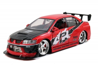 Mitsubishi Lancer EVO 8 *Fast and Furious Tokyo Drift* 2004 red 1:18 Jada Toys