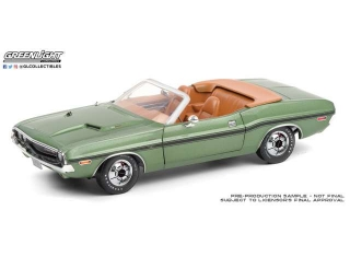 Dodge Challenger R/T Convertible *Kissimmee 2020, Lot #S186* F8 1970 1:18 Greenlight