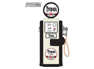 Wayne 100-A Gas Pump *Tydol Flying Gasoline* 1948 black/white 1:18 GreenLight