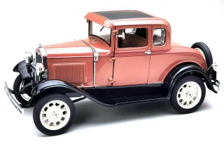 Ford Model A Coupe 1931 brown 1:18 Sunstar