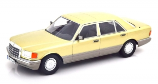 Mercedes-Benz S-Class 560SEL W126 2S 1985 thistle green/grey 1:18 iScale