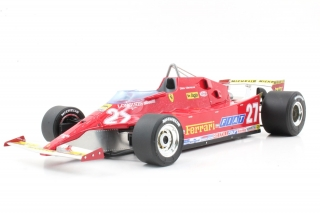 Ferrari F1 126CX Comprex Turbo #27 Gilles Villeneuve USA Ovest Long Beach GP 1981 1:18 GP Replicas