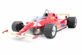 Ferrari F1 126CX Comprex Turbo #28 Didier Pironi USA Ovest Long Beach GP 1981 1:18 GP Replicas