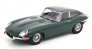 Jaguar E-Type Coupe MK1 LHD 1961 green 1:18 KK Scale