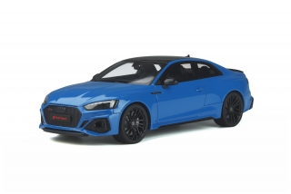Audi RS 5 Coupe 2020 Turbo blue 1:18 GT Spirit