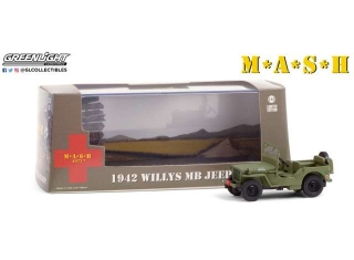 M*A*S*H Willys MB Jeep 1942 1:43 Greenlight