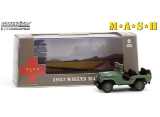 M*A*S*H Willys M38 A1 1952 1:43 Greenlight