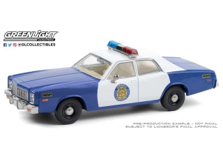 Plymouth Fury Osage County Sheriff 1975 1:43 Greenlight
