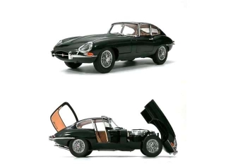 Jaguar E Type RHD 1961 british racing green 1:18 Kyosho