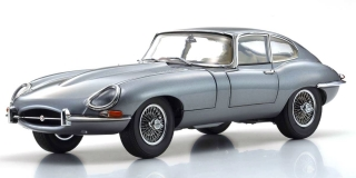 Jaguar E Type RHD 1961 gun metal grey 1:18 Kyosho