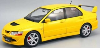 Mitsubishi Lancer Evolution VIII 2005 yellow 1:18 Kyosho