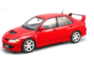 Mitsubishi Lancer Evolution VIII 2005 red 1:18 Kyosho