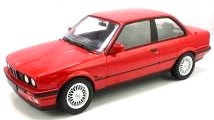 BMW 3-Series 325i E30 1988 red 1:18 Norev
