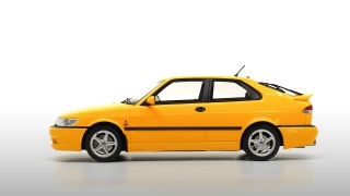 Saab 9-3 Viggen Coupe 2000 yellow 1:18 DNA Collectibles