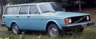 Volvo 245 DL 1975 blue 1:18 DNA Collectibles