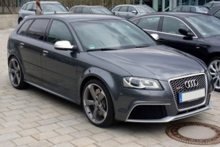 Audi A3 RS3 2011 grey metallic 1:18 DNA Collectibles
