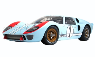 Ford GT40 MKII 7.0L V8 Shelby American Inc. #1 2nd (but really winner)24H Le Mans 1966 Miles/Hulme 1:12 Acme Diecast