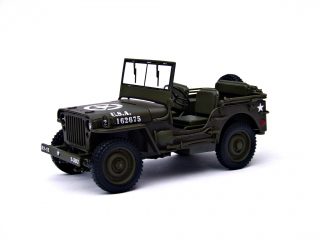 Jeep Willys US ARMY green 1:18 Welly