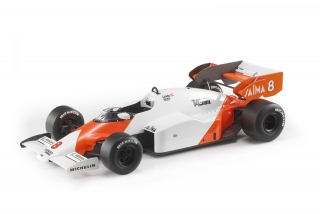 McLaren F1 MP4/2 TAG #8 Niki Lauda 1984 World Champion 1:18 GP Replicas