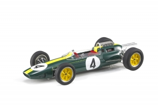 Lotus F1 Climax 25 #4 Jim Clark 1963 World Champion 1:18 GP Replicas