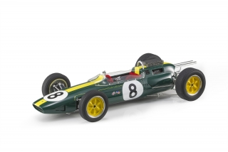 Lotus F1 Climax 25 #8 Further 1963 1:18 GP Replicas