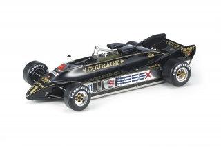 Lotus F1 88B Courage Essex #11 Elio de Angelis 1981 1:18 GP Replicas