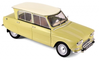 Citroën Ami 6 1964 yellow 1:18 Norev