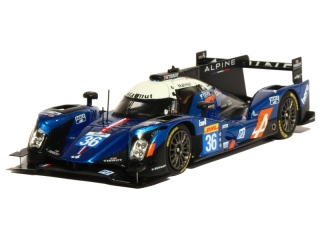 Alpine A460 Nissan #36 Lapierre, Richelmi, Coffret World Champion LMP2 2016 1:43 Spark