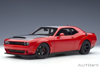 Dodge Challenger Demon SRT 2018 torred with satin black graphic package 1:18 AUTOart