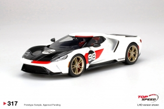 Ford GT 2021 Heritage Edition 1:18 TopSpeed Models