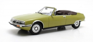 Citroen SM Mylord by Henry Chapron 1971 green 1:18 Cult Scale Models