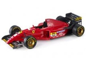Ferrari 412T2 #28 Gerhard Berger F1 Season 1995 1:18 GP Replicas
