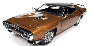 Plymouth Roadrunner HT 1971 GY8 gold leaf 1:18 Auto World
