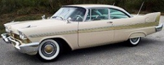 Plymouth Fury 1957 beige 1:18 Auto World
