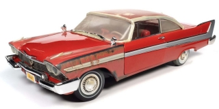 Plymouth Fury Christine 1958 partially restored 1:18 Auto World