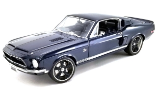 Shelby GT500KR *King Cobra* 1968 dark blue metallic 1:18 Acme Diecast