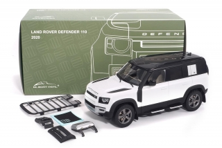Land Rover Defender 110 2020 white 1:18 Almost Real
