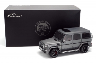 Mercedes-AMG G63 W463 2017 Monza grey magno 1:18 Almost Real