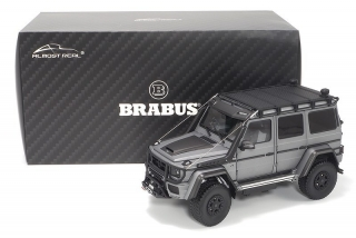 Brabus 550 Adventure Mercedes-Benz G500 4×4² Monza grey magno 1:18 Almost Real