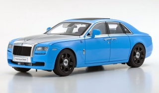 Rolls Royce Ghost light blue/silver 1:18 Kyosho