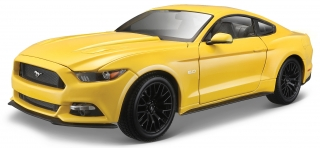 Ford Mustang 2015 yellow 1:18 Maisto