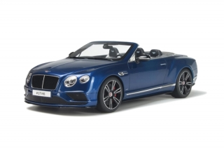 Bentley Continental GT V8 S Cabrio blue 1:18 GT Spirit