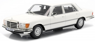 Mercedes-Benz 450 SEL 6.9 W116 S-Class 1975-1980 white 1:18 iScale
