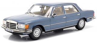 Mercedes-Benz 450 SEL 6.9 W116 S-Class 1975-1980 blue metallic 1:18 iScale