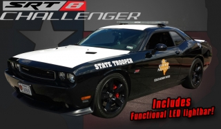 Dodge Challenger SRT8 Texas Highway Patrol Car 2012 1:18 Acme Diecast