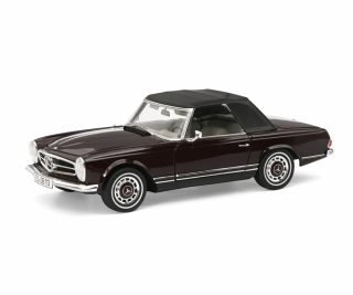 Mercedes-Benz 280 SL wine red 1:18 Schuco