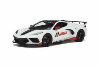 Chevrolet Corvette C8 Pace Car 2020 Arctic white 1:18 GT Spirit