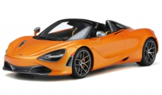 McLaren 720S Spider 2018 Papaya spark orange 1:18 GT Spirit