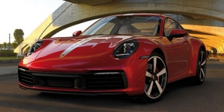 Porsche 911 Carrera 4S 2019 red 1:18 Minichamps