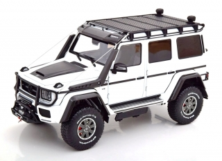 Brabus 550 Adventure Mercedes-Benz G500 4×4² white 1:18 Almost Real